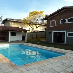 casas para alugar em Atibaia - SP com piscina