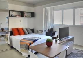 Apartamento com 1 Quarto para alugar, 30m²