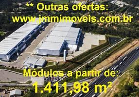 Galpão/Depósito/Armazém para alugar, 1411m²