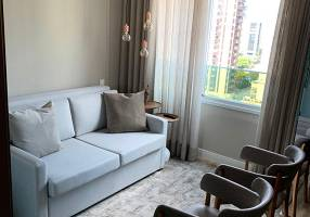 Apartamento com 1 Quarto para alugar, 19m²