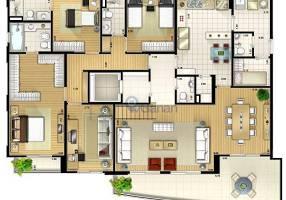 Apartamento com 3 Quartos à venda, 139m²