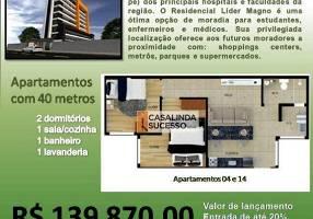 Kitnet com 2 Quartos à venda, 40m²