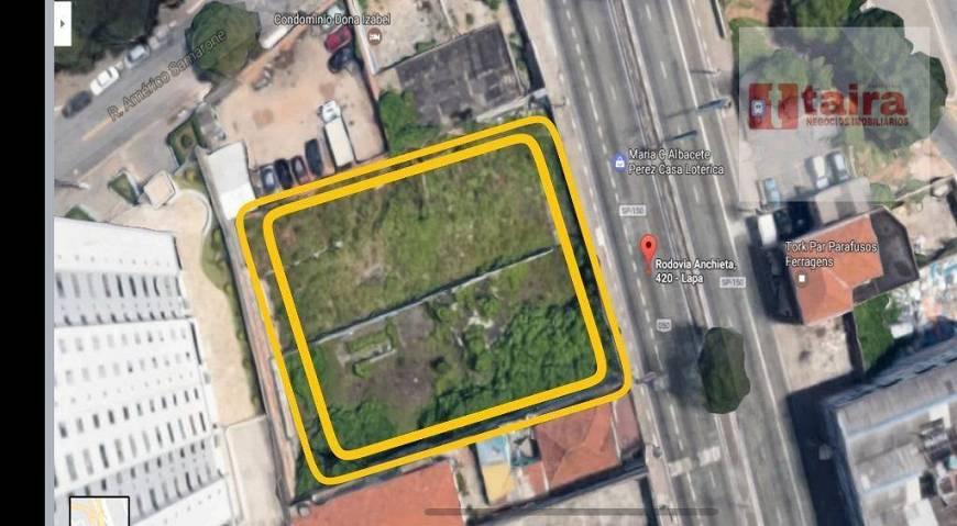 Lote/Terreno à Venda, 1870 m² por R$ 5.800.000 Rodovia Anchieta, 422 - Vila Moinho Velho, São Paulo - SP