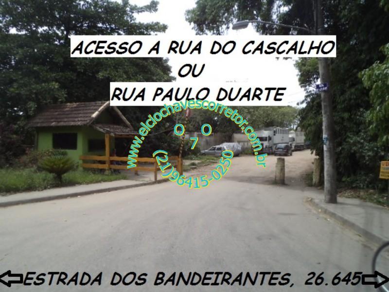 Lote/Terreno à Venda, 180 m² por R$ 90.000 Rua do Cascalho, 688 - Vargem Grande, Rio de Janeiro - RJ
